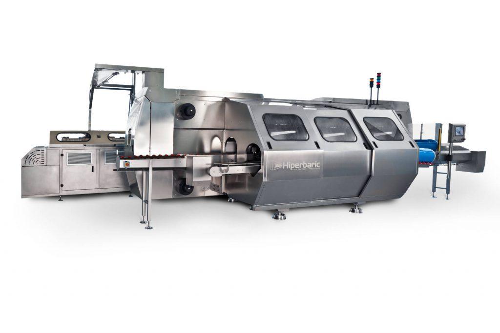 HPP Maschine linke Ansicht